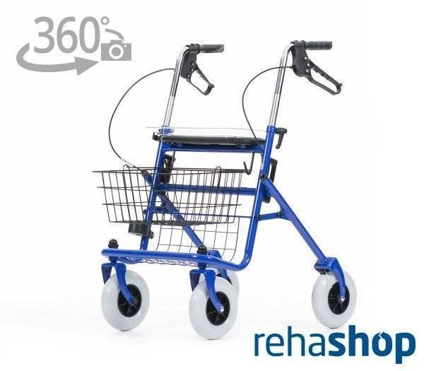 REHASHOP Rollator Vita mit 360 Grad-Ansicht im rehashop.ch