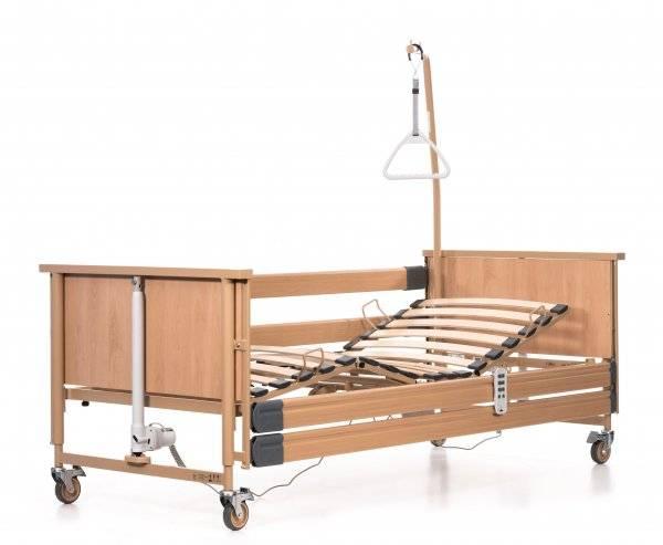 BURMEIER Pflegebett Dali im rehashop mit 360° Ansicht