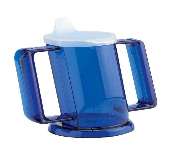 Trinkbecher, blau Handycup