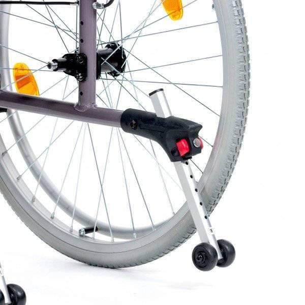 REHASHOP Kippschutz für Bison 2 Rollstuhl (1 Paar)