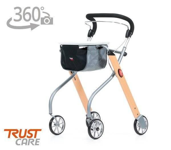 TRUST Wohnraumrollator Let's Go mit 360 Grad-Ansicht im rehashop.ch