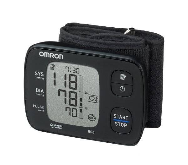OMRON Handgelenk-Blutdruckmessgerät RS6 im rehashop.ch