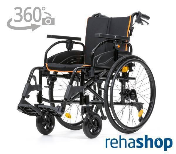 REHASHOP Rollstuhl Tiger mit 360° Ansicht